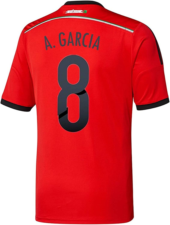 adidas A. Garcia #8 Mexico Away Jersey World Cup 2014