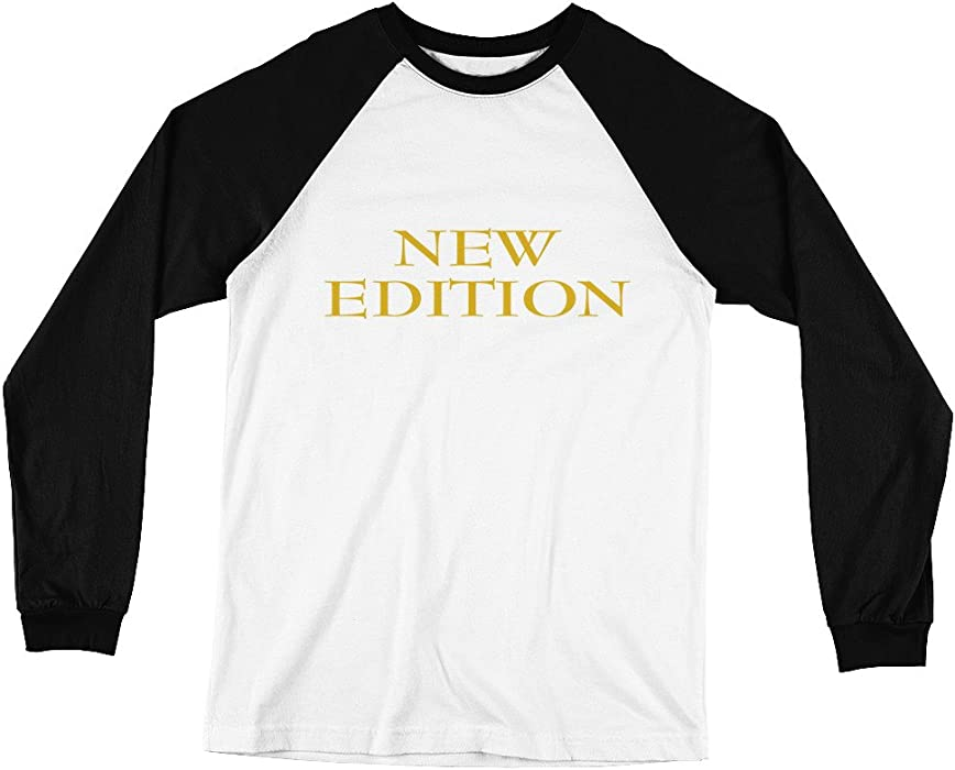New Edition Bell Biv Devoe Long Sleeve Baseball T Shirt At Amazon