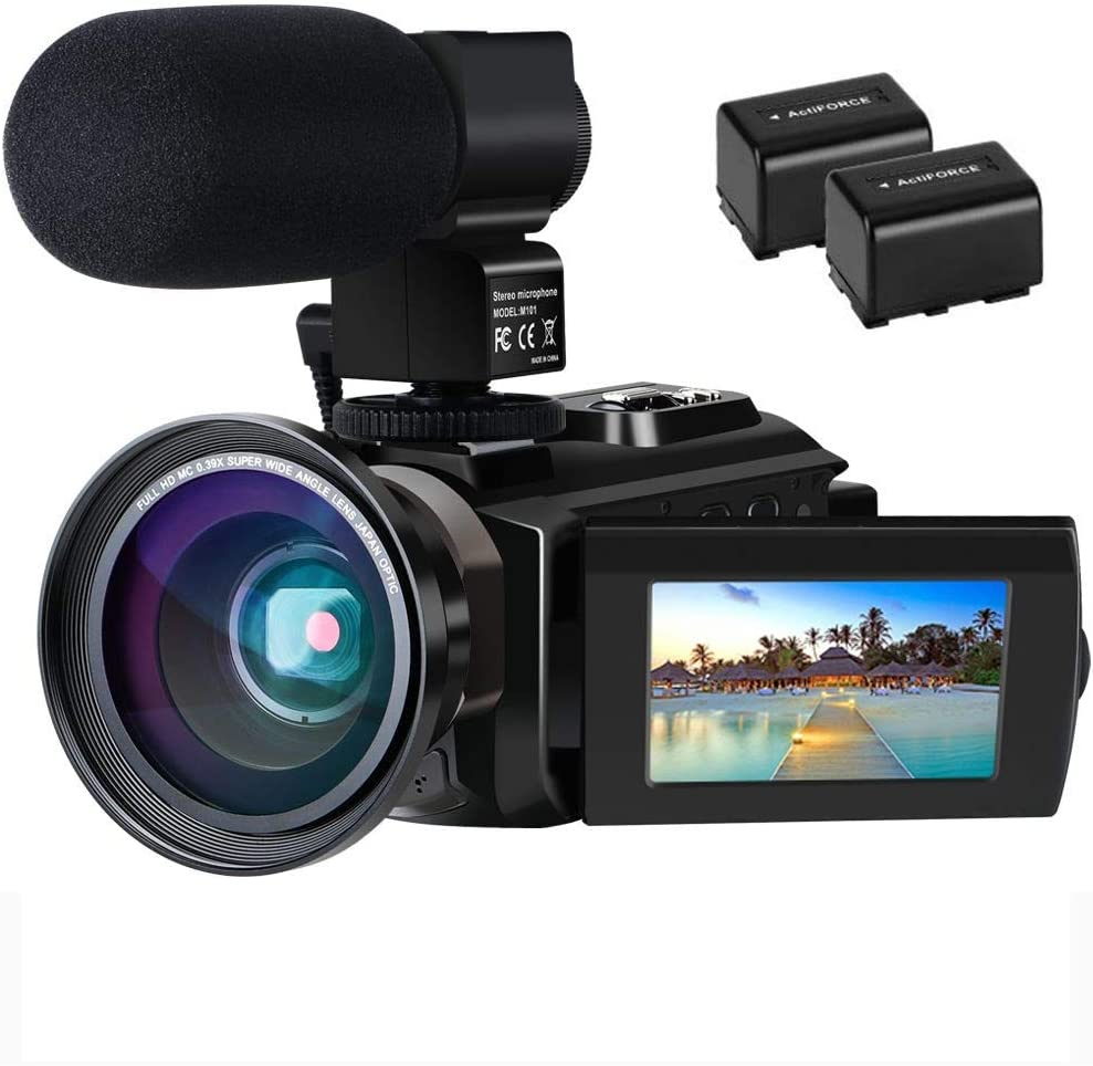 Elektronik & Foto Camcorder Videokamera 4K WiFi Full Hd Video ...