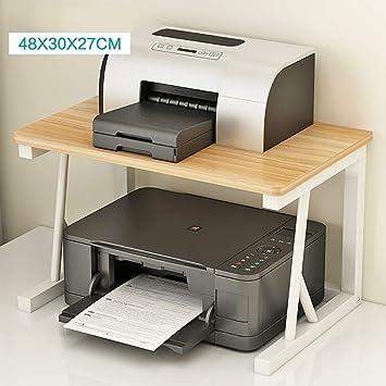 AGWa Soporte de estante de 2 Niveles de escritorio para la ...