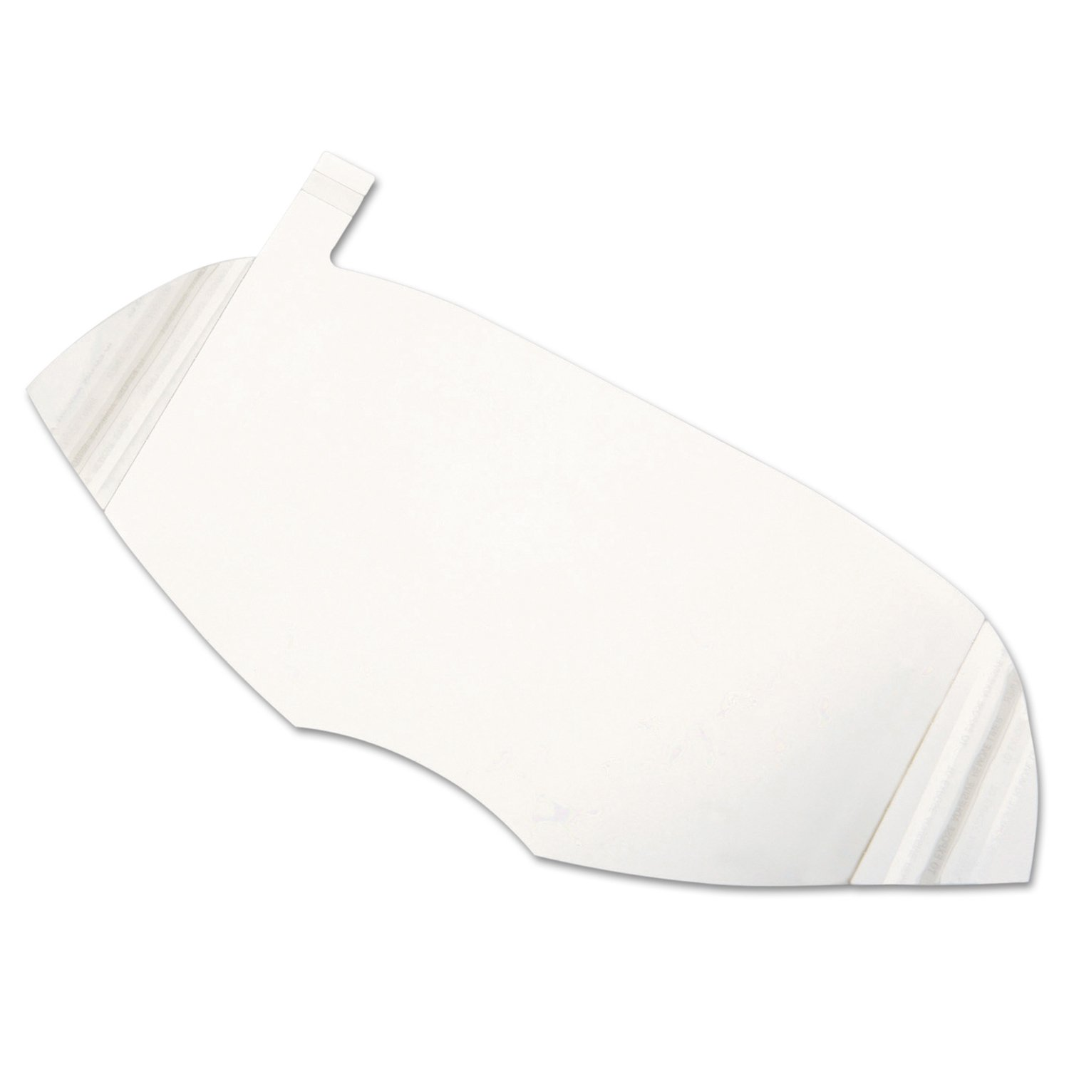 North by Honeywell 80836A Peel Away Windows for Full Face Piece, North 5400, 7600 and 7800 Series, 6'' 15/Pack by Honeywell