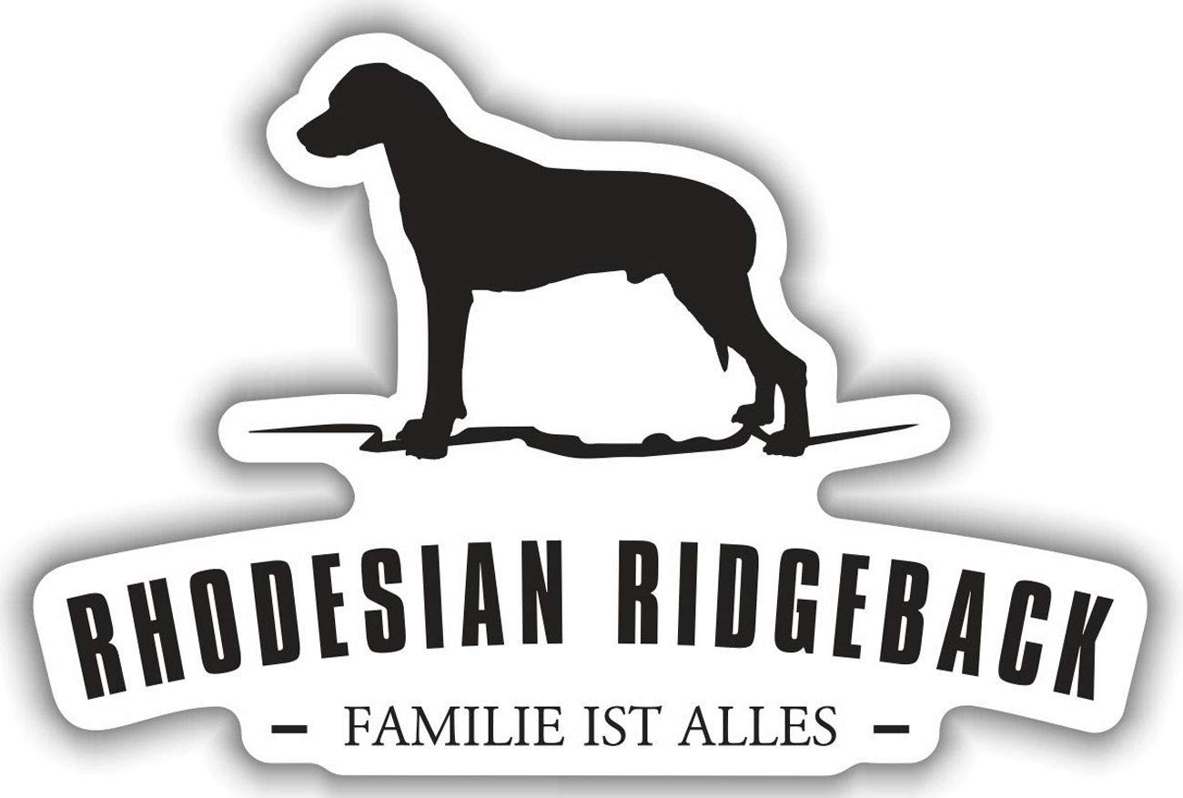 Aufkleber Rhodesian Ridgeback wetterfester