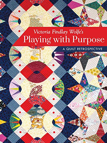 (Victoria Findlay Wolfe's Playing with Purpose: A Quilt Retrospective)