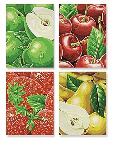 Schipper Tutti Frutti Heimische Früchte Malen Nach Zahlen Quattro