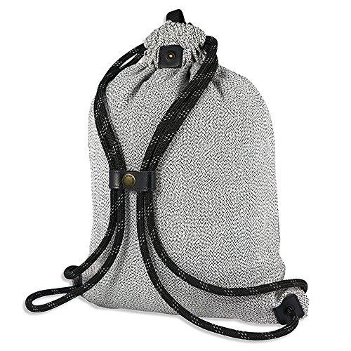LOCTOTE Flak Sack SPORT - Lightweight Theft-Resistant Drawstring Backpack | Lockable | Slash-Resistant | Portable Safe by LOCTOTE (Image #1)