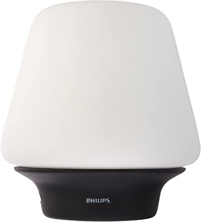 Philips Hue White Ambiance Wellness Dimmable LED Smart Table Lamp (Compatible with Alexa Apple HomeKit and Google Assistant) (Renewed)