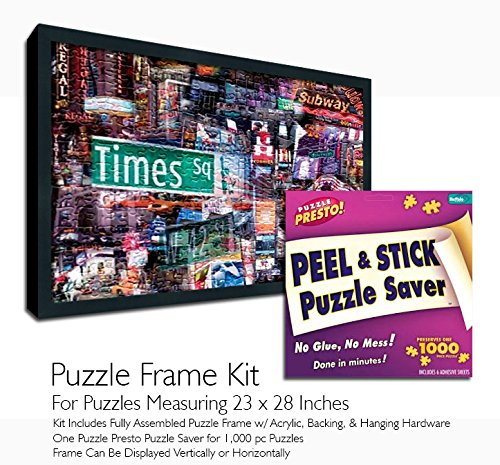 Jigsaw Puzzle Frame Kit - Made to Display Puzzles Measuring 23x28 Inches by Buffalo Games