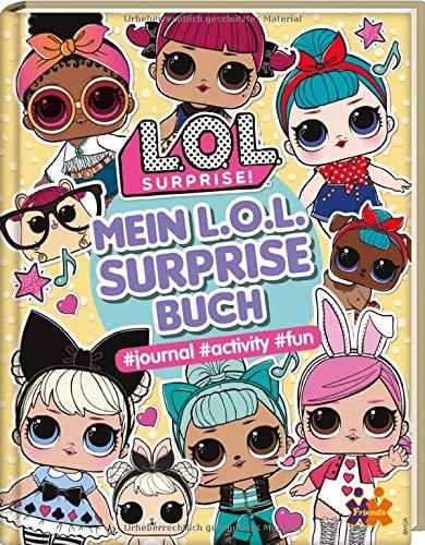 Price comparison product image L.O.L. Surprise! Mein L.O.L. Surprise-Buch: journal activity fun