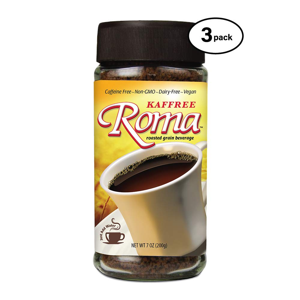 Kaffree Roma - Plant-Based - Original (7 oz.) (Pack of 3) - Non-GMO by Kaffree Roma (Image #1)