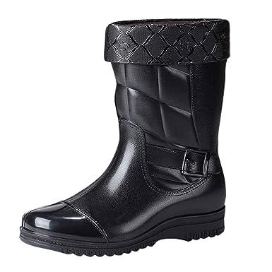 Darringls_Zapatos de hombre,Botas de Lluvia Botas ...