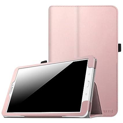 sale retailer 79e0f 4ca8c Fintie Folio Case for Samsung Galaxy Tab E 9.6 - Slim Fit Premium Vegan  Leather Cover for Tab E/Tab E Nook 9.6-Inch Tablet (SM-T560/T561/T565 & ...