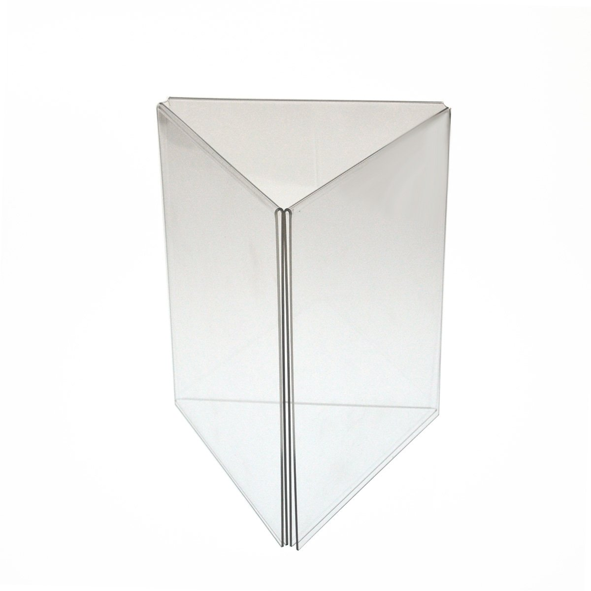 Amazon.com Marketing Holders 5 x 7 inch Three Sided Acrylic Table Tent Sign Holder Lot of 10 Kitchen u0026 Dining  sc 1 st  Amazon.com & Amazon.com: Marketing Holders 5 x 7 inch Three Sided Acrylic Table ...