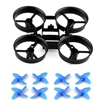 Toifocus RC Drone Propulsores y marco para JJRC H36 Eachine E010 ...