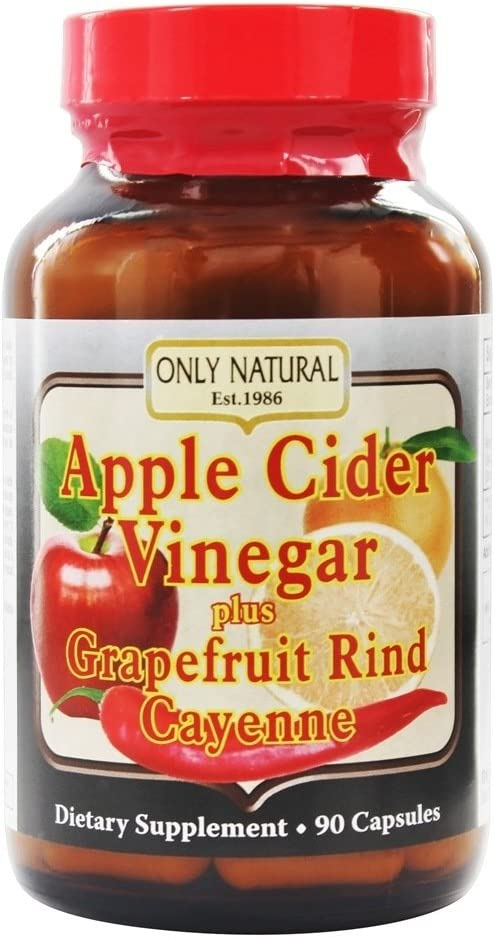 Only Natural Apple Cider Vinegar Plus 90 Capsules