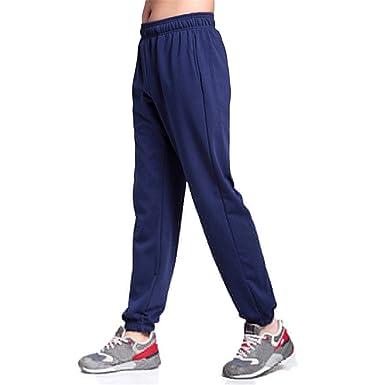 751a60e4bf3f69 Prettyever Comfortable Men Sweatpants Elastic Narrow Feet Pencil Pants  Loose Cotton Jogger Trousers 5XL 6XL 7XL at Amazon Men's Clothing store: