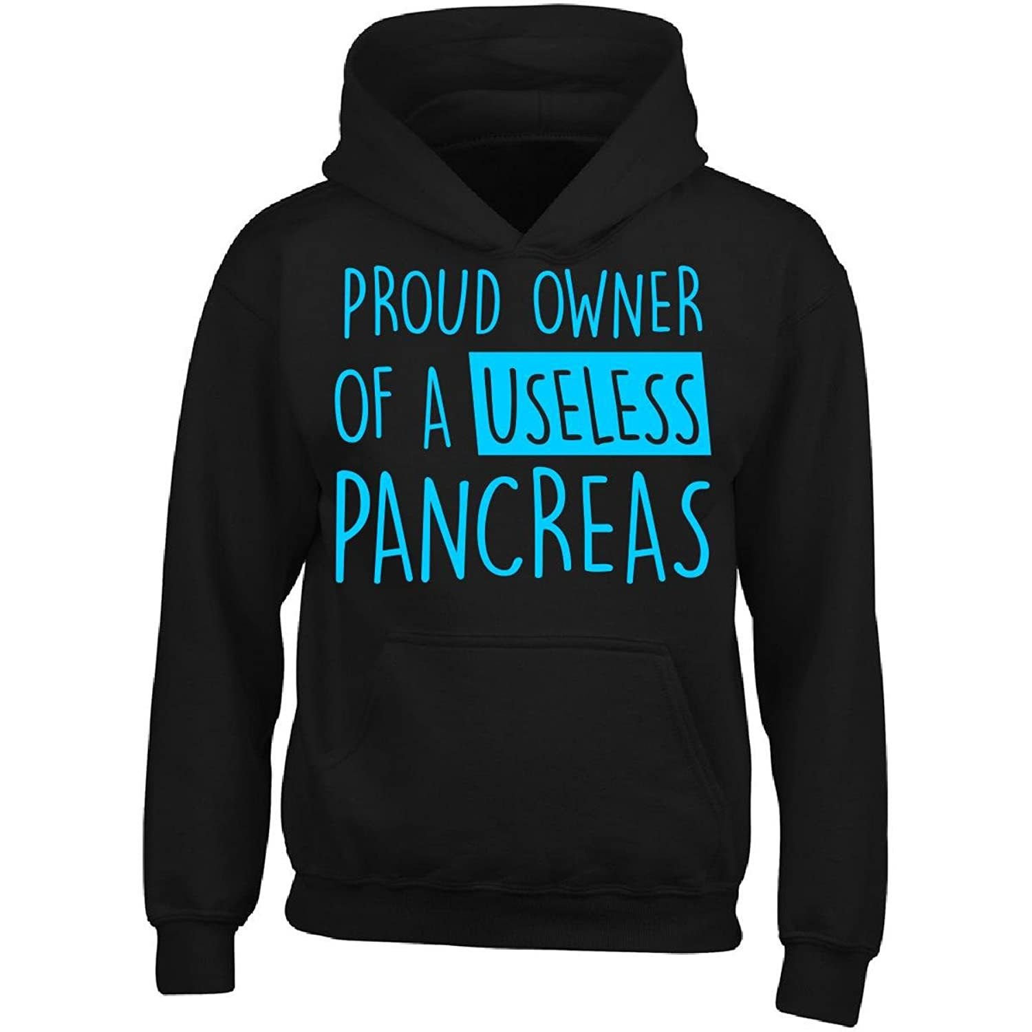 4a9cd98e51f Proud Owner Of A Useless Pancreas Diabetes - Adult Hoodie low-cost ...