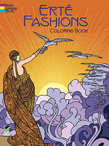 Big Book Clipart - Erté Fashions Coloring Book (Dover Fashion Coloring Book)