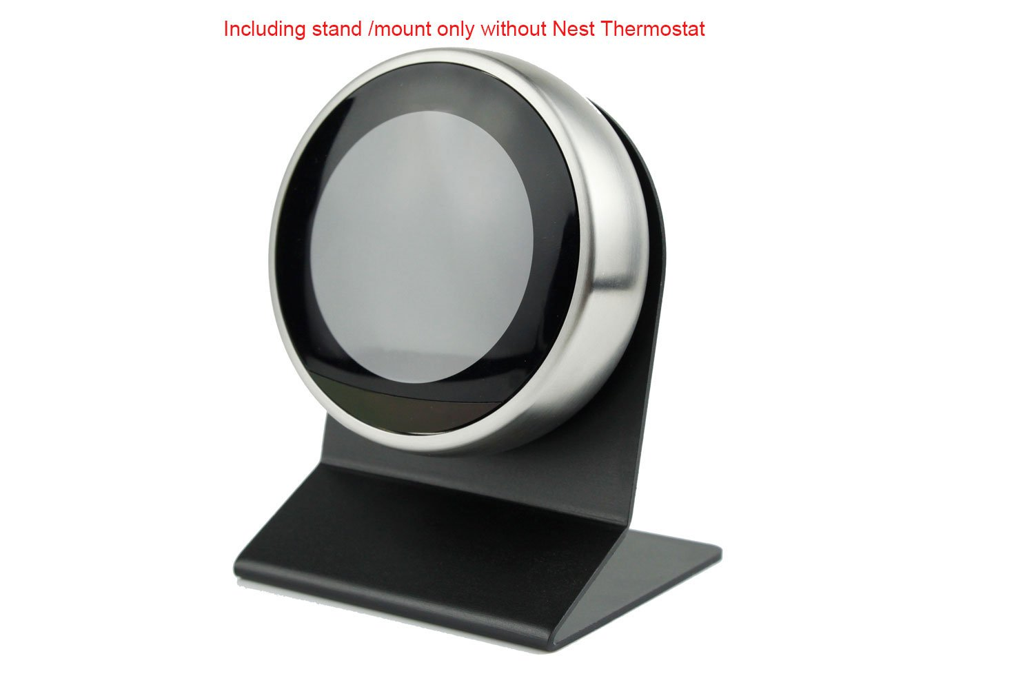 POPMAS Metal Stand/Tabletop display stand for Nest Thermostat 3rd, 2nd and 1st Generation Black
