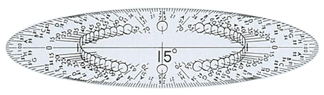 パトロン失望させる加速度Bazic 335-24 Geometry Ruler Combination Sets- Pack of 24