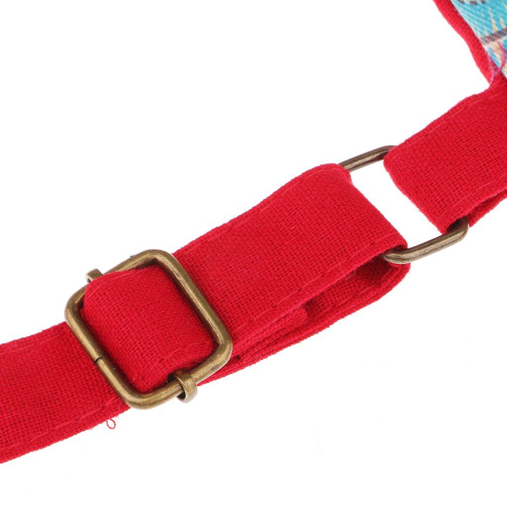 Sharplace Sac /à Dos en Coton Style National Mode Hibou Fait /à Main Accessoire pour D/écoration