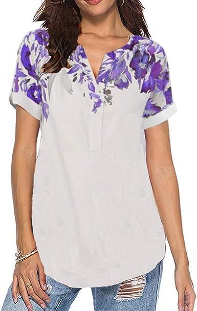Primavera Verano Nuevas Camisas De Mujer para Mujer ...