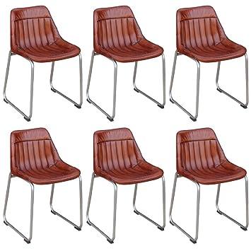 Fijo Night Juego de 4 sillas de comedor vintage de Look essstuhl ...