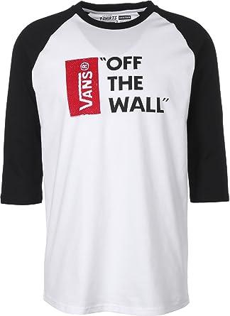 Vans Off The Wall Raglan, T Shirt Homme