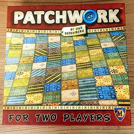 Autumn - Juego de Cartas para Dos Jugadores, diseño de Patchwork de Agua para Fiestas, en Chino y en inglés: Amazon.es: Hogar