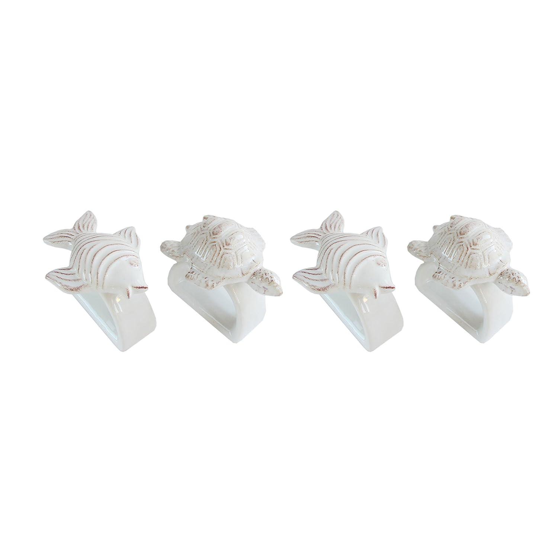 Set of 4 American Atelier 6494-4R Seashore Napkin Rings