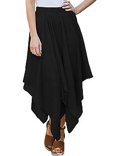 d428688b19 Bila Womes Boho Handkerchief Long Skirts at Amazon Women's Clothing ...