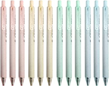 AMAZING Beautiful  Pens Blue And Black Color Office Retractable School