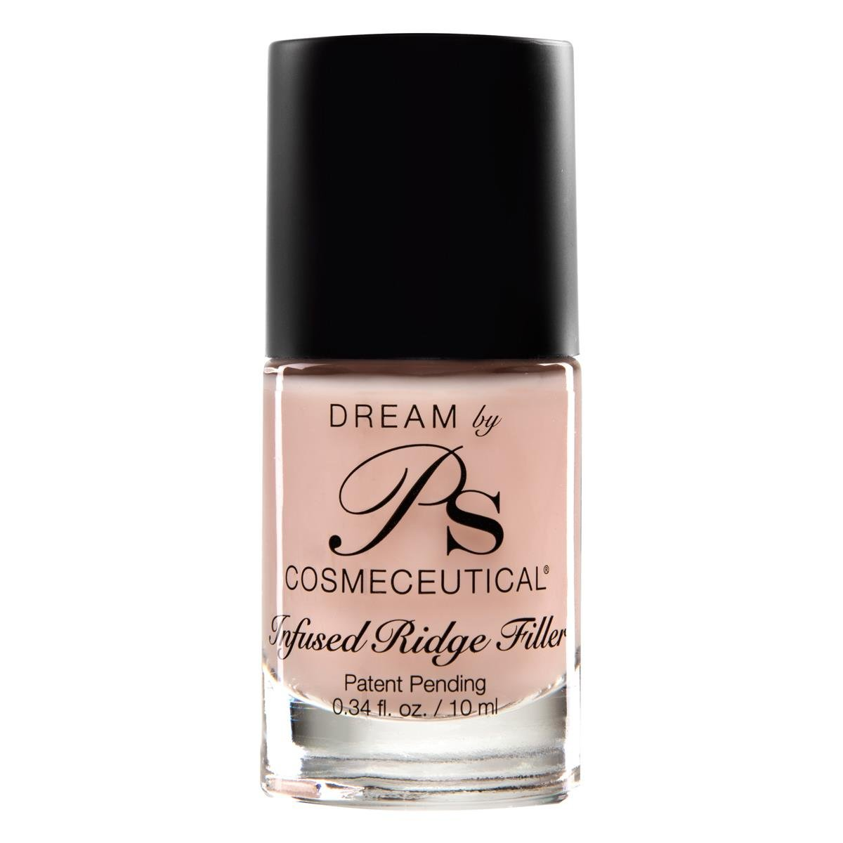 PS Polish Natural Nail Polish Foundation Ridge-Filler, Nail-Strengthener, Safe Non-Toxic Professional Nail Art and Polish Ridge Filling Base Coat, Best Polishes for Manicure, Pedicure - MSRP $17.99 by DREAM BY PS COSMECEUTICAL