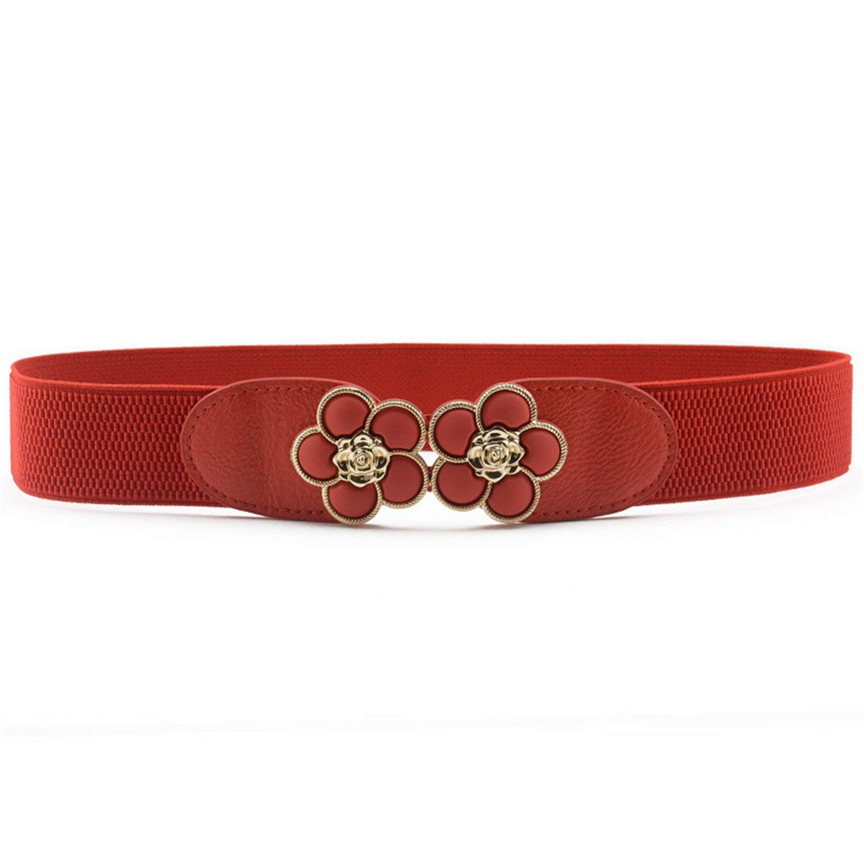 Beautface Makeup Fashion Waist Belt Belt For Women Female Belt,60,SunflowerRed