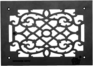 Renovator's Supply Heat Air Grille Cast Victorian Overall 10