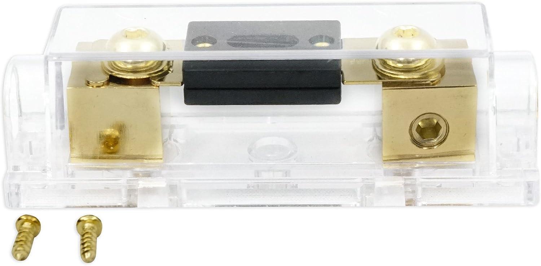 Rockville dB16 8000 Watt//4000w RMS Mono Class D 2Ohm Car Audio Amplifier and Amp Kit