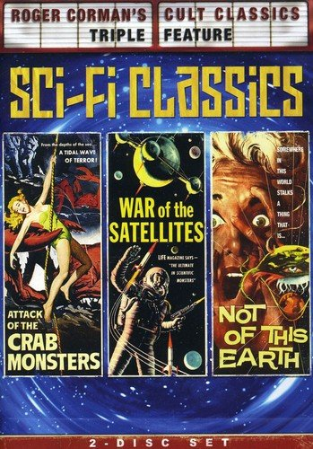 Roger Corman's Cult Classics Triple Feature (Attack of the Crab Monsters / War of the Satellites / Not of This ()