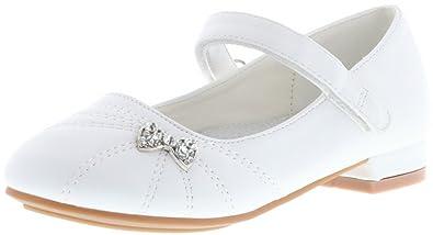 ConWay Mädchen Ballerinas Kommunion Konfirmation Lackoptik