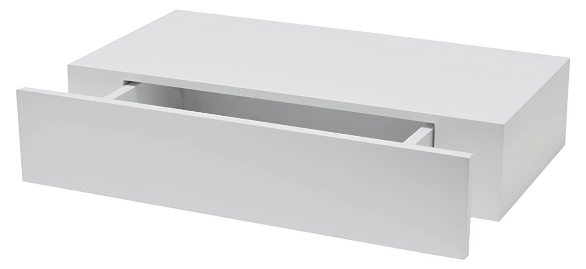 DURAline XL10Rack with Drawer 100mm 48x 25cm Lacquered White