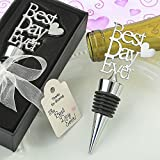 48 Metal Best Day Ever Bottle Stoppers