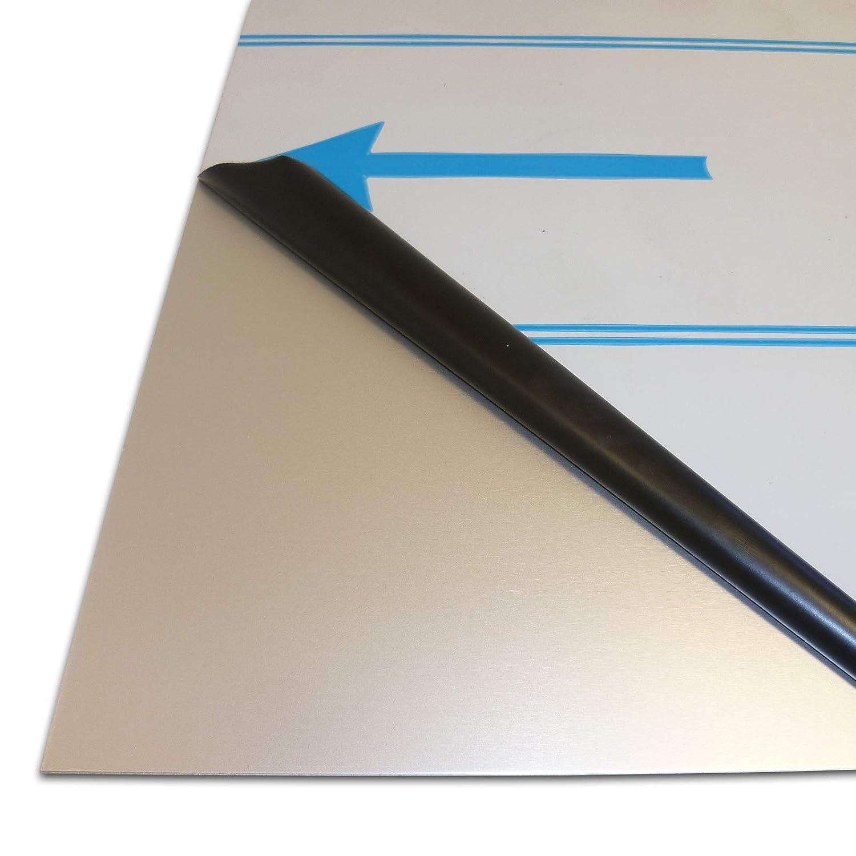 B/&T Metall Aluminium Platte blank gewalzt natur 25 x 25 cm 20,0mm stark Gr/ö/ße 250 x 250 mm