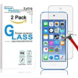 iPod Touch Screen Protector - KATIN [2-Pack] Apple iPod Touch 5th / 6th Generation Tempered Glass [0.2mm Ultra Thin 9H Hardness 2.5D Round Edge] with Lifetime Replacement Warranty
