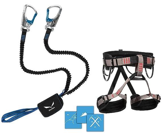 Lacd Klettergurt Harness Start : Klettersteigset salewa premium attac lacd gurt start gratis