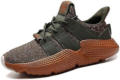 Zapatillas de Correr para Hombre de Moda, de la Marca Beautiful, Verde (Verde), 44 EU: Amazon.es: Zapatos y complementos