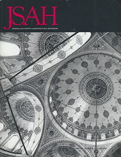 JASH: Two Drawings by Michelangelo Palazzo Dei Conservatori; 16th Century Istanbul Mosques; Dennis Hart Mahan at West Point; Theory of Pure Design (2008 Journal)