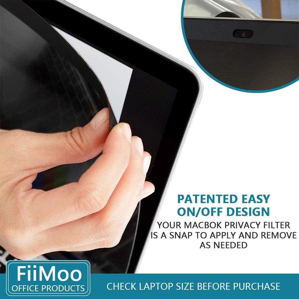 Laptop Privacy Filter Anti-Glare Protector FiiMoo Magnetic Privacy Screen Compatible with MacBook Pro 16 Inch 2019 Easy On//Off Privacy Screen Filter for MacBook Pro 16