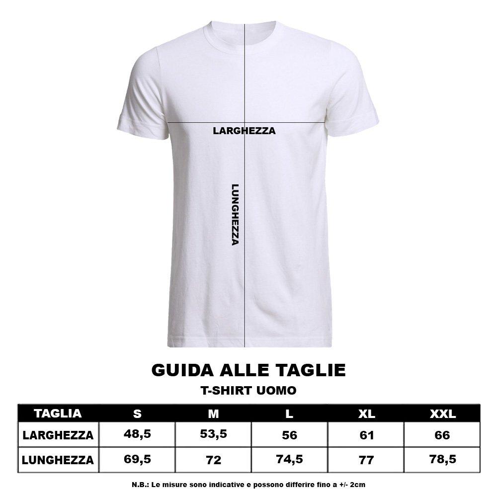 Altra Marca T-Shirt Uomo Bicolore Personalizzata Maglietta Maschile Originale Sticazzi