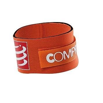 COMPRESSPORT Timing Chip Strap Cintur/ón de hidrataci/ón para Running