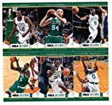 2012/13 NBA Hoops Boston Celtics Team Set (10 Cards)- Kevin Garnett, 2 Rajon Rondo, Ray Allen, Paul Pierce, Bass Bradley, Rivers, JaJuan Johnson RC + Stiemsa RC !