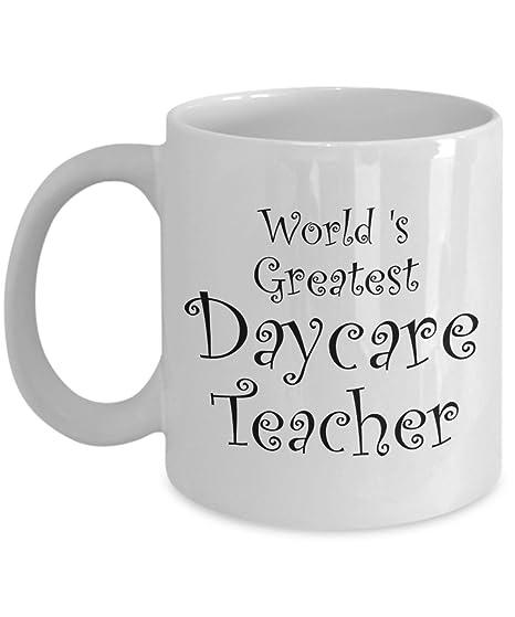 Amazoncom Daycare Teacher Gifts Mug Men Women