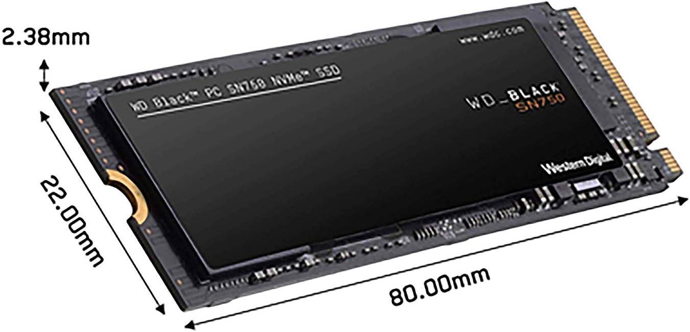 WD Black SN750 - SSD Interno NVMe para Gaming de Alto Rendimiento ...